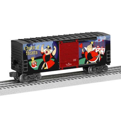 Lionel Trains Queen of Hearts Disney Villains Hi-Cube Boxcar
