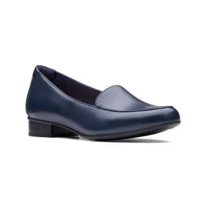 Clarks Womens Juliet Lora Slip-On Shoes Slip-on Closed Toe