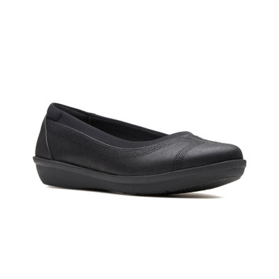 Clarks Womens Ayla Lo Slip-On Shoes Slip-on Closed Toe
