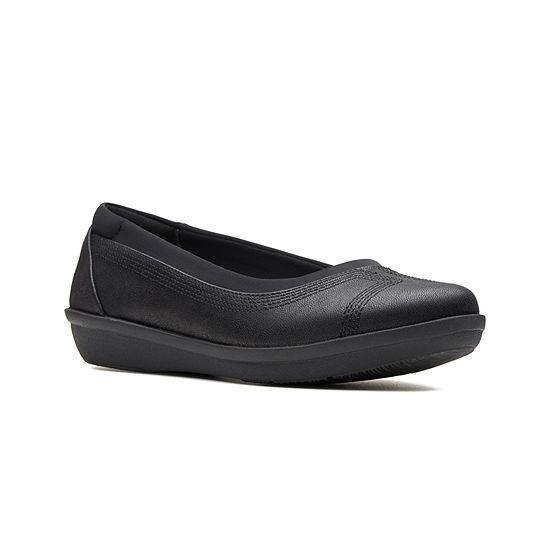 Clarks Womens Ayla Lo Slip-On Shoe Closed Toe