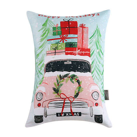 Sara B Holiday Rectangular Throw Pillow