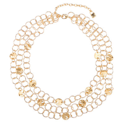 Chaps Womens Collar Necklace