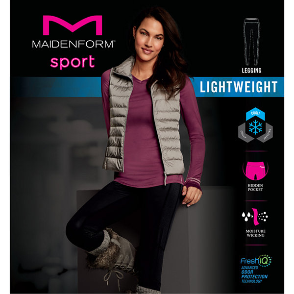 Maidenform Sport Baselayer Active Thermal Pants