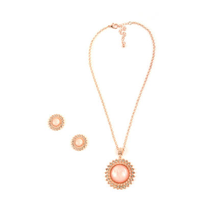 Mixit Rose Tone 3-pc. Jewelry Set