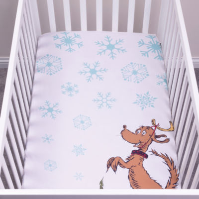 Trend Lab Max Flannel Photo Op Fitted Crib Sheet
