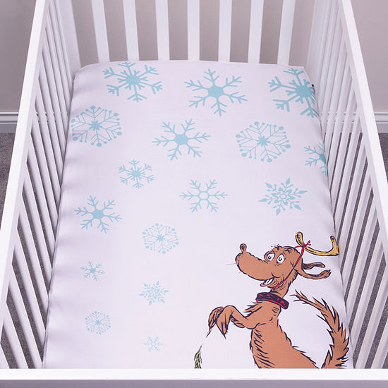 Trend Lab Max Flannel Photo Op Fitted Crib Sheet Crib Sheet