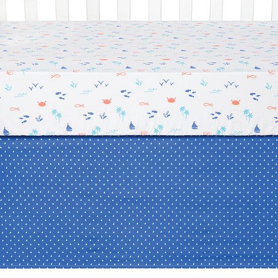 Trend Lab Ocean Pals Crib Bedding Set 3-pc. Crib Bedding Set