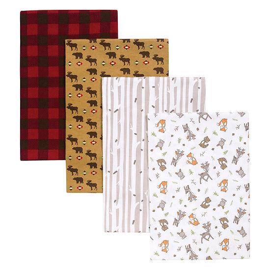 Trend Lab Northwoods 4-Pk. Blankets 4-pc. Blanket - Boys