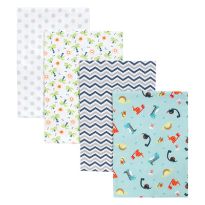 Trend Lab Dinosaur 4-Pk. Blankets 4-pc. Blanket - Boys