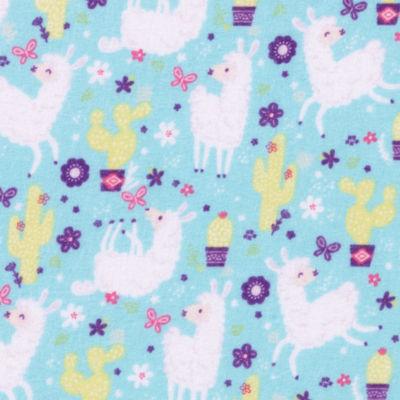 Trend Lab Llama Paradise  Flannel  Crib Sheet Crib Sheet