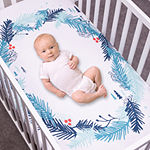 Trend Lab Wreath Flannel Photo Op Crib Sheet Crib Sheet