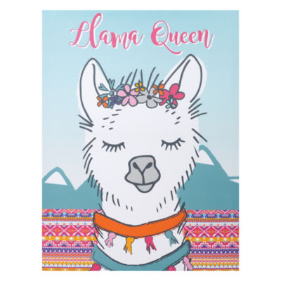 Trend Lab Llama Queen Canvas Wall Art Canvas Art