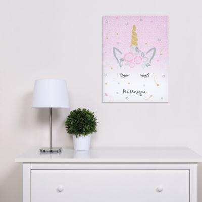 Trend Lab Mystical Dreams Unicorn Canvas Wall Art Canvas Art