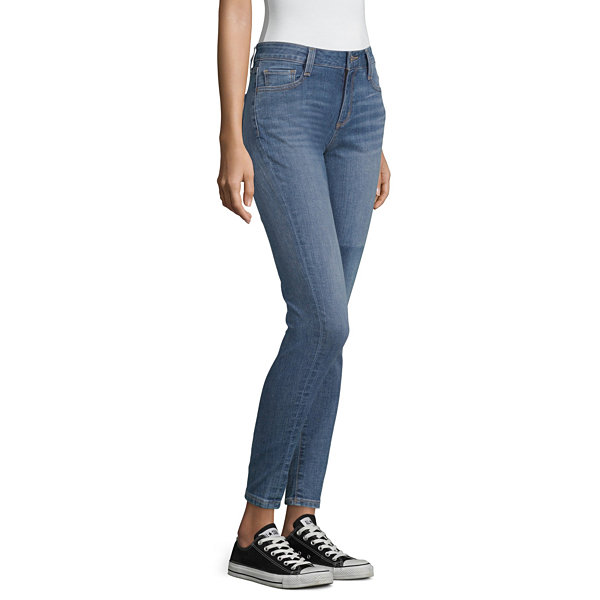 Arizona Womens Low Rise Jeggings - Juniors