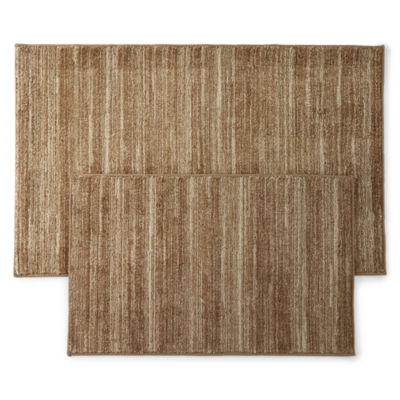 Home Expressions Stripes Rectangular Rugs