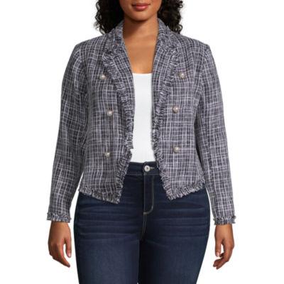 Worthington Boucle Jacket - Plus