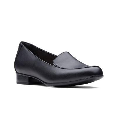 Clarks Womens Juliet Lora Slip-On Shoe Closed Toe