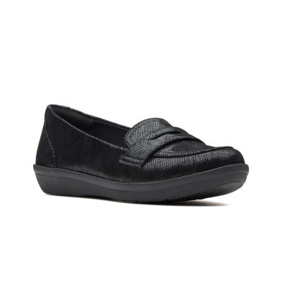 Clarks Womens Ayla Form Slip-On Shoe Closed Toe
