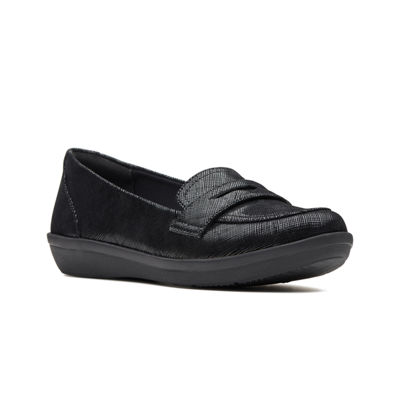 Clarks Womens Ayla Form Slip-On Shoes Slip-on Closed Toe