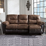 Signature Design by Ashley® Longview Pad-Arm Reclining Sofa