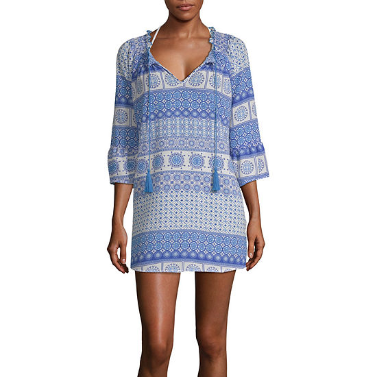 50ebd73515 Porto Cruz Swimsuit Cover-Up Dress - JCPenney