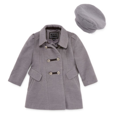 S Rothschild Band Master Coat with Hat -Toddler Girls