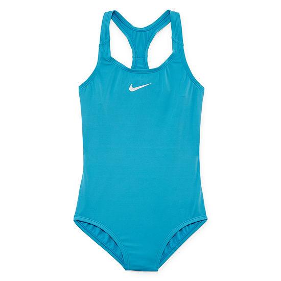 Nike One Piece Swimsuit Big Kid Girls