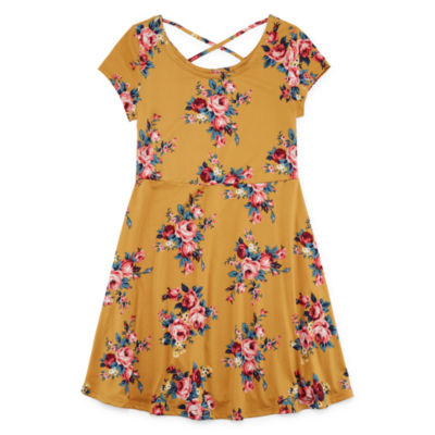 Arizona Short Sleeve Shift Dress Girls