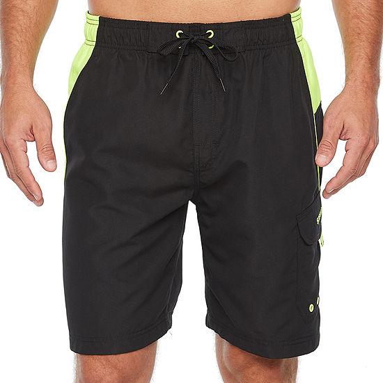 "Speedo Marina Sport Microfiber 9"" Volley Shorts"