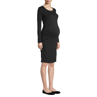 Belle & Sky Maternity Long Sleeve Dress