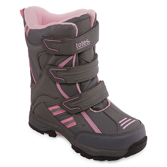 Totes Little Kid/Big Kid Girls Rachael Water Resistant Winter Boots