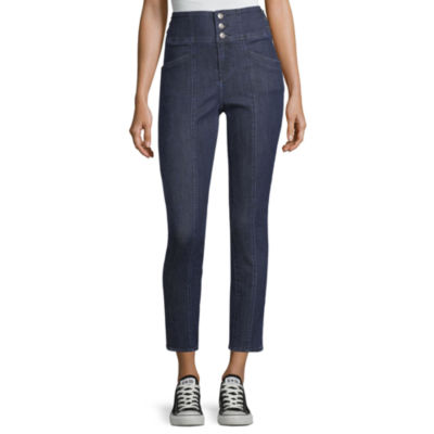 Almost Famous Womens High Waisted Skinny Fit Jean - Juniors