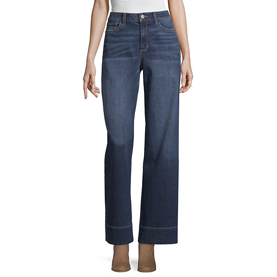 a.n.a Modern Fit Wide Leg Jeans