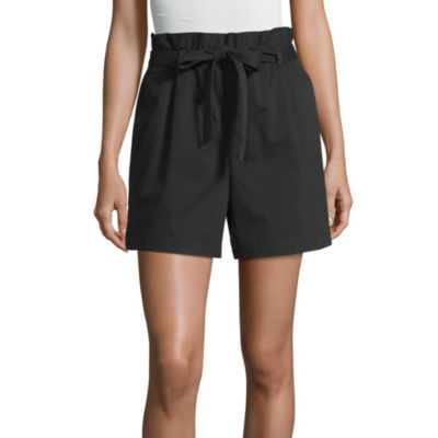 a.n.a Womens High Waisted Pull-On Short