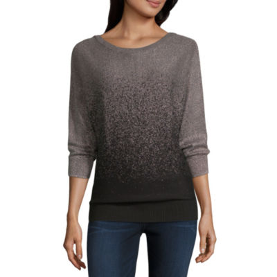 Alyx 3/4 Sleeve Round Neck Pullover Sweater