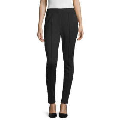 Liz Claiborne Simply Womens Slim Pant