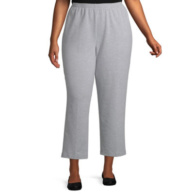 Alfred Dunner At Ease French Terry Pant - Plus