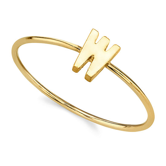 1928 Womens 14K Gold Over Brass Band