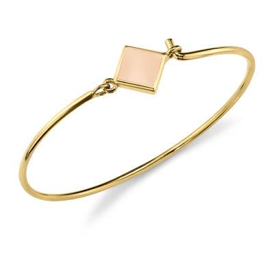 1928 Womens 14K Gold Over Brass Cuff Bracelet