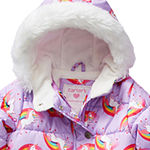 Carter's-Baby Girls Heavyweight Animal Snow Suit
