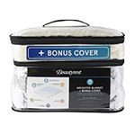 Beautyrest 15lb Weighted Blanket with Removable Cover