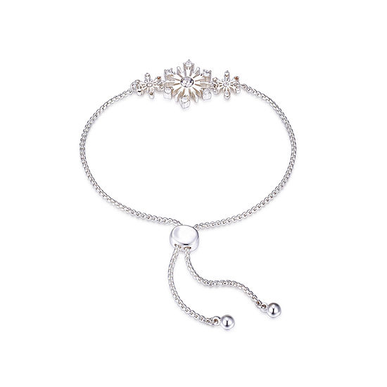Disney Crystal 16 Inch Cable Frozen Bolo Bracelet