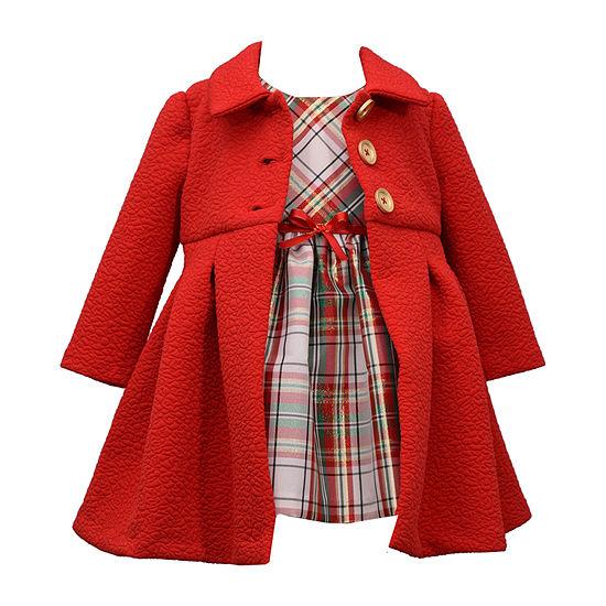 Bonnie Jean Girls 2-pc. Jacket Dress - Preschool