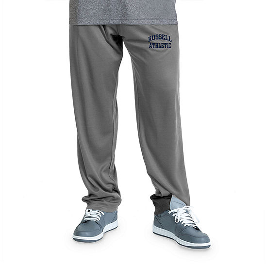 Russell Athletics Big and Tall Mens Regular Fit Pull-On Pants