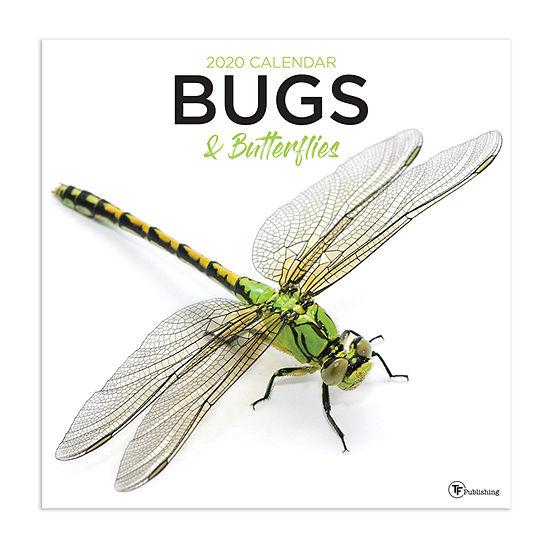 Tf Publishing 2020 Bugs And Butterflies Wall Calendar