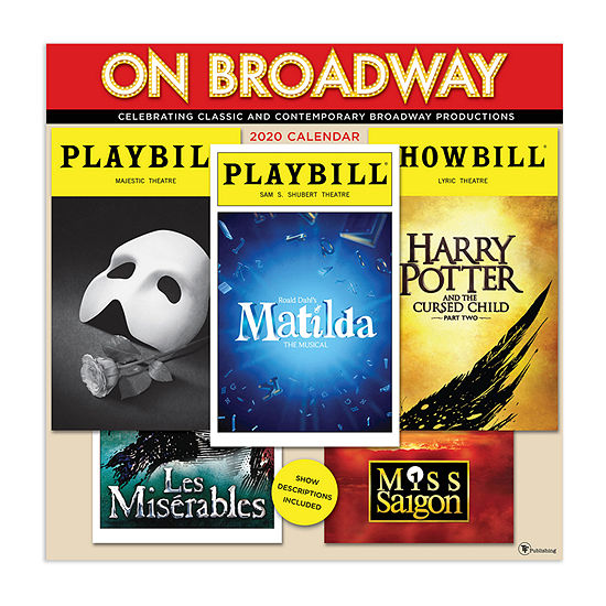 Tf Publishing 2020 On Broadway Wall Calendar
