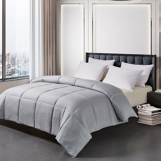 Blue Ridge Home Fashion Solid Color Down Alternative Comforter