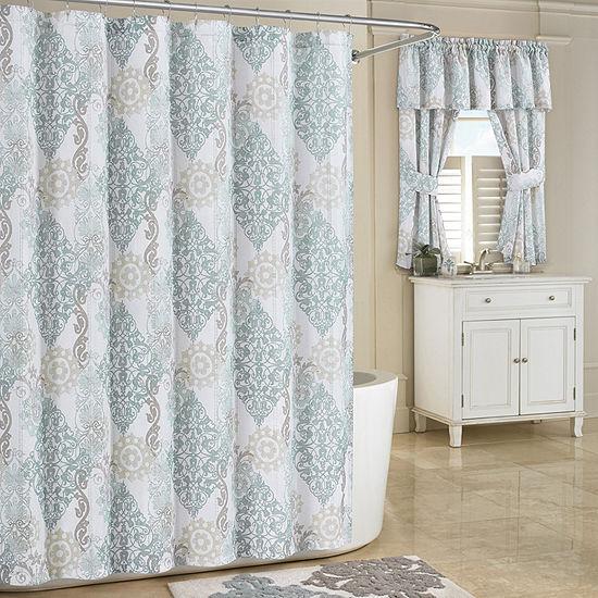 Queen Street Galloway Shower Curtain