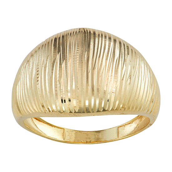 Womens 10K Gold Cocktail Ring
