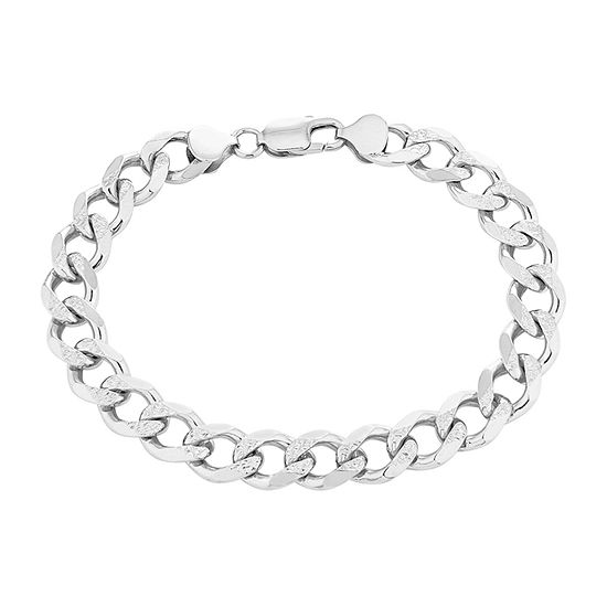 Made in Italy Sterling Silver Curb Bracelet